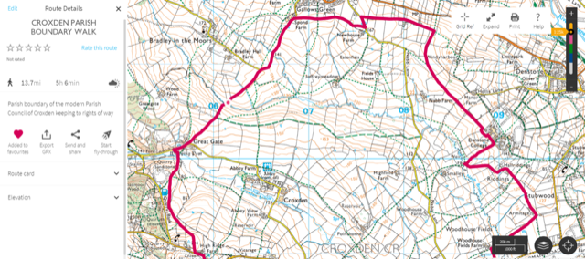 Croxden PC Boundary Walk part 1